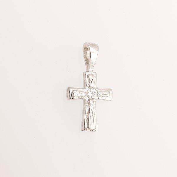 Zlatý přívěs křížek