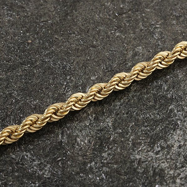 Zlatý řetízek 50 cm