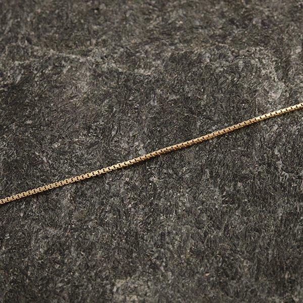 Zlatý řetízek 52 cm