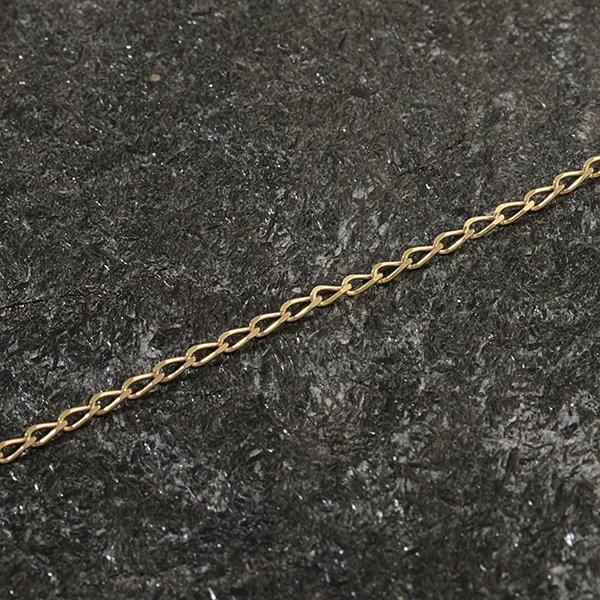 Zlatý řetízek 38 cm