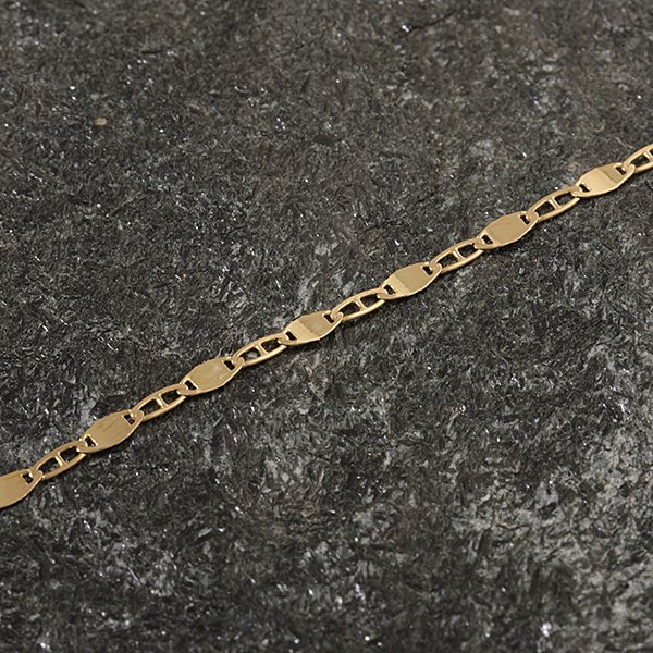 Zlatý řetízek 41 cm