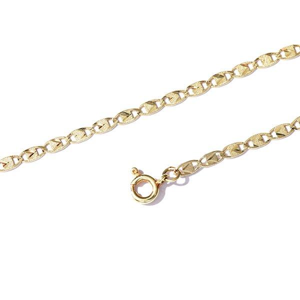 Zlatý náramek 18,5 cm