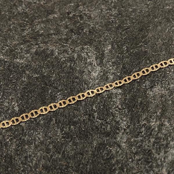 Zlatý náramek 17 cm