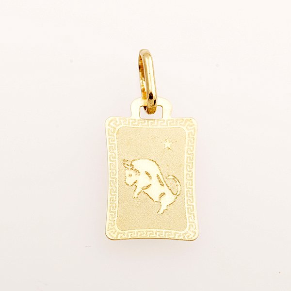 Zlatý přívěs znamení býk