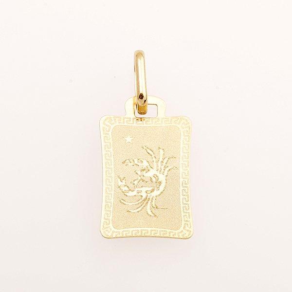 Zlatý přívěs znamení šťír