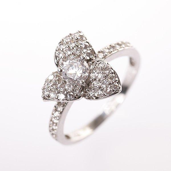 Stříbrný prsten vel. 61