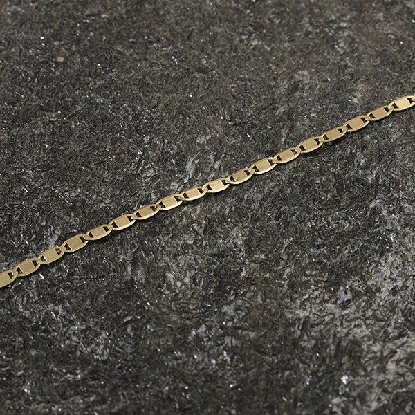 Zlatý řetízek 49 cm