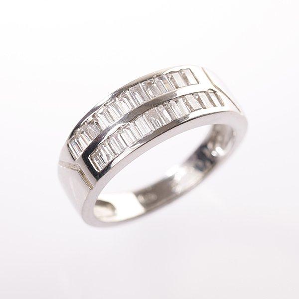 Stříbrný prsten vel. 55