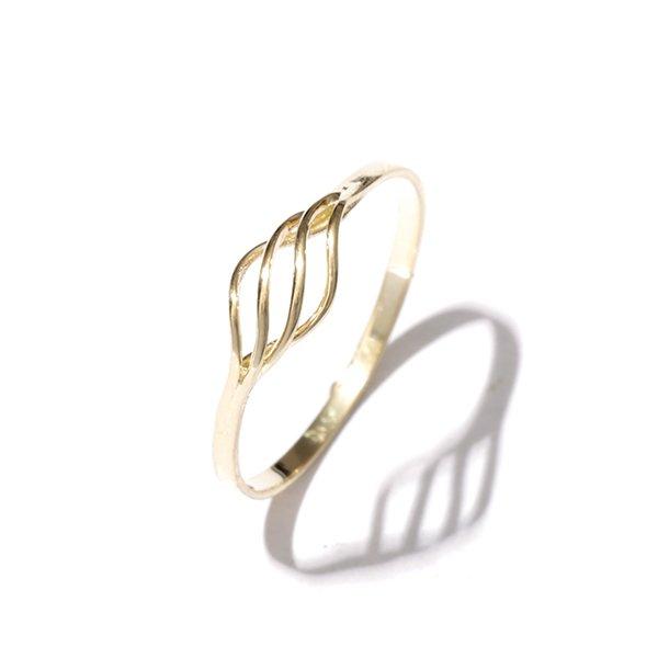 Zlatý prsten vel. 55