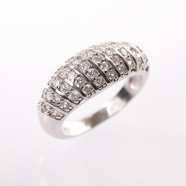 Stříbrný prsten vel. 53