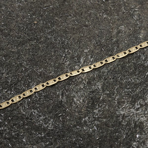 Zlatý řetízek 44 cm