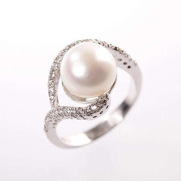 Stříbrný prsten vel. 54