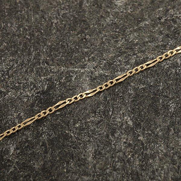 Zlatý řetízek 48 cm
