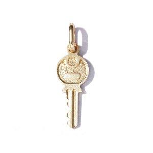 Zlatý přívěs klíček