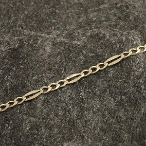 Zlatý náramek 22 cm