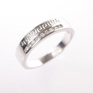 Stříbrný prsten vel. 60