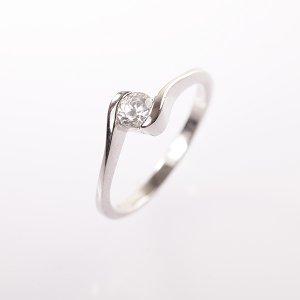 Stříbrný prsten vel. 51
