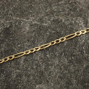 Zlatý náramek 21 cm