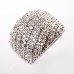 Stříbrný prsten vel. 57