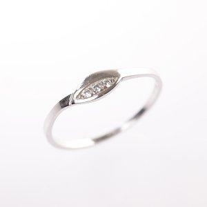 Zlatý prsten se zirkony vel. 59
