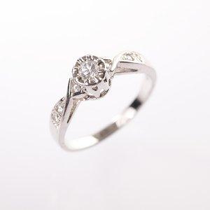 Stříbrný prsten vel. 52