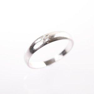 Zlatý prsten se zirkonem vel. 52